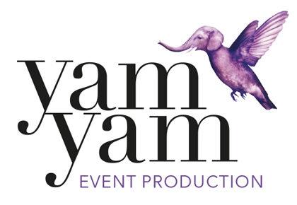 YAM YAM Event Production - Logo